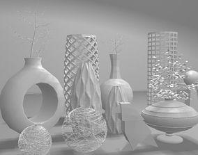 3D print model Vases Set