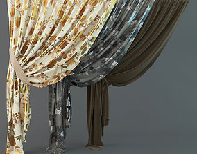 Curtains variations 3D