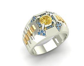 794 Diamond Men ring style Rolex watch 3D printable model