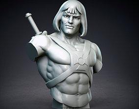 80s TRIBUTE bust 3D print model