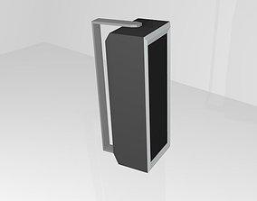 Wall Speaker 3D asset