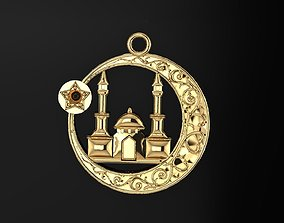 Pendant mosque 146 3D printable model