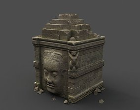 3D asset Angkor Wat Games res model 02