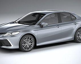 Toyota Camry Hybrid SE 2021 3D