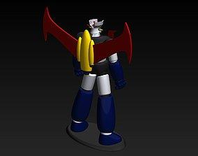 mazinger z japan anime super robot 3D print model