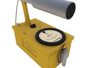 3D asset Geiger Counter