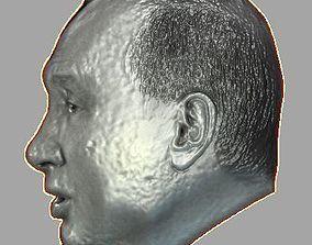 3D model vladimir putin Relief