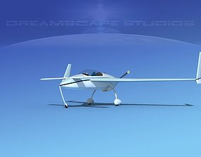 3D model Rutan VariEze V14