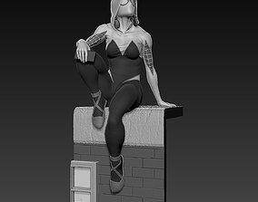 3D printable model Spider-Gwen statue