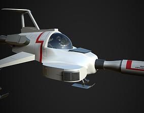 UFO Interceptor-stylised model from the TV show 3D
