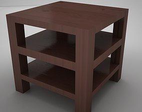 3D model coffe table square 2