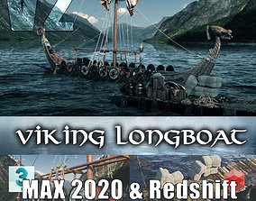 TKs Viking Longboat V2 3D model