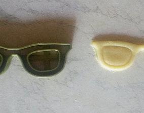 Sunglasses cookie cutter 3D print model