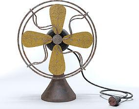 3D Old Worn Fan