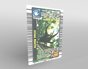 Atlas Beetle Card v9 001 3D model