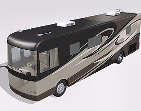 3D model Basic Class A Motorhome