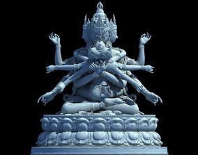 sculpture Tibetan Buddha 3D printable model