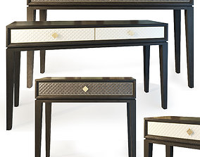 3D LAURENT console dresser The Sofa And Chair Co