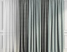 Curtain Set 289 3D model