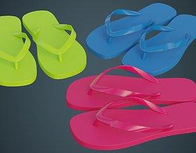 3D model Flip Flops 1A