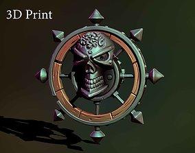 Pirate rudder 3D print model