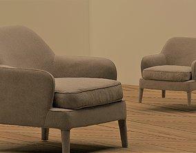 3D model bedroom armchair
