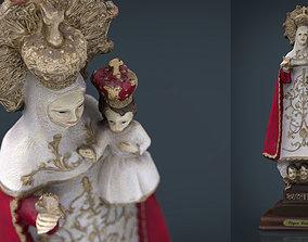 3D model Virgen de Covadonga