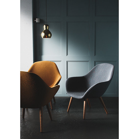 Detailed chair visualisation
