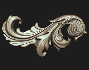 barocco Carved decor 011 3D model