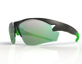 Sporty sunglasses 3D