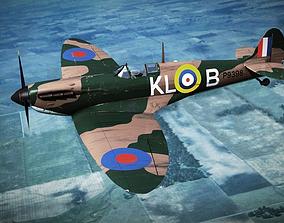 SUPERMARINE SPITFIRE MK IA 54th Squadron 3D