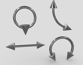 3D model Piercings 2