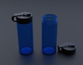 Water Bottle 3D water