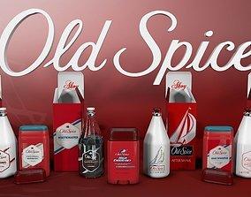 Old Spice Bottles 3D
