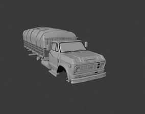 Truck old D60 chev 3D model