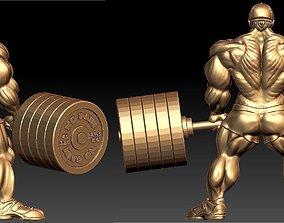 3D print model Weightlifter