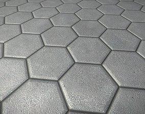 Cobblestone 9 Texture Set - 21 3D asset