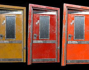 3D model Industrial Doors 01 PBR