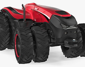 Case IH Self-Driving Drone Tractor 3D model