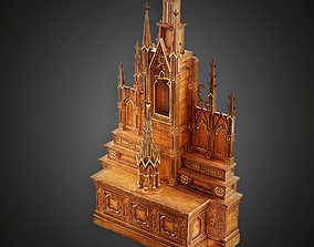 3D asset MVL - Altar - PBR Game Ready