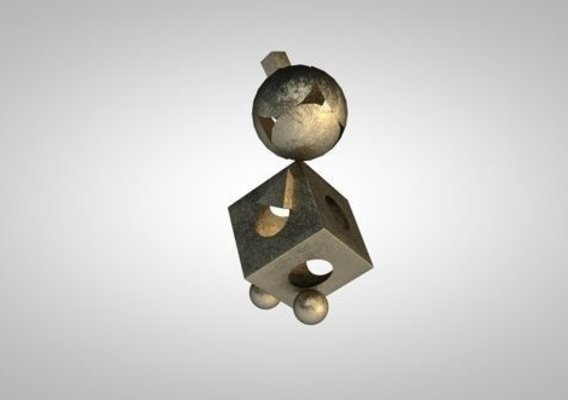 Cinema 4d - Bronze ( Sculpture ) Material