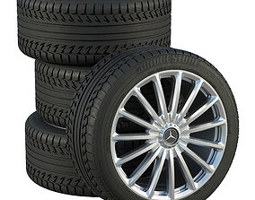 Mercedes wheels 3D model