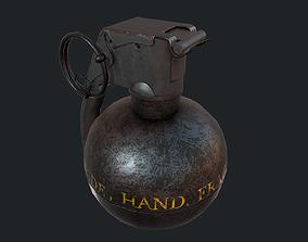 Grenade M-67 3D asset