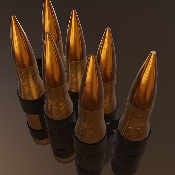 .50 Cal Bullet chain