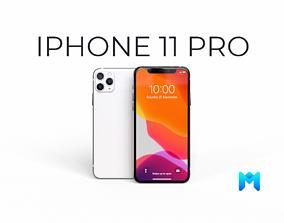 2020 Apple Iphone 11 pro max 3D asset