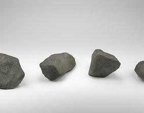 Stones Pack v2 3D model