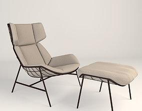 3D SUMMER SET bergere relax Armchair and
