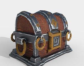 3D asset Stylized Treasure Box