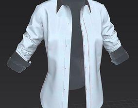 Female Shirt 4 - Garment 3D clothing