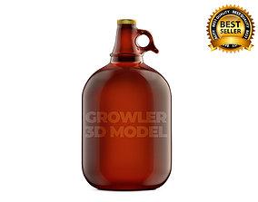 Growler Beer 3D model